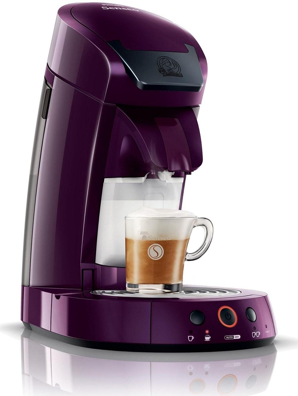 Philips HD7853 Senseo Cappuccino Select rubinrot - Coffee Pod / Capsule Machines - computeruniverse