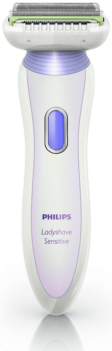 Philips HP6366/00 Ladyshaver Akku, Wet & Dry, Trimmeraufsatz