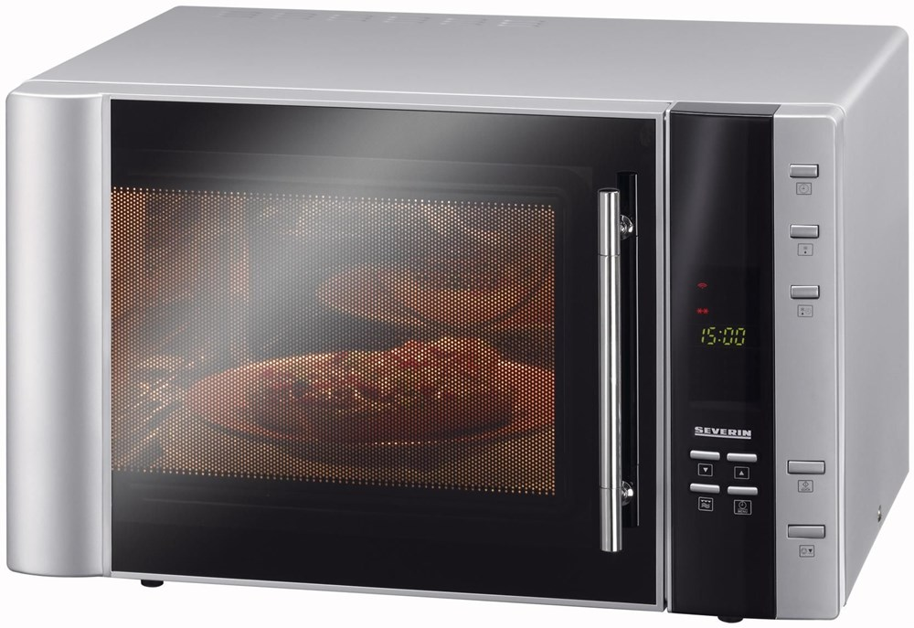 severin mw 7803 mikrowelle silber microwaves. Black Bedroom Furniture Sets. Home Design Ideas