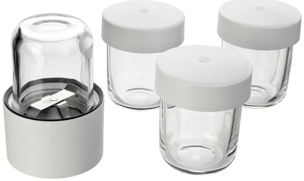 Kenwood AT320 Kräuter und Gewürzmühle weiß/glas