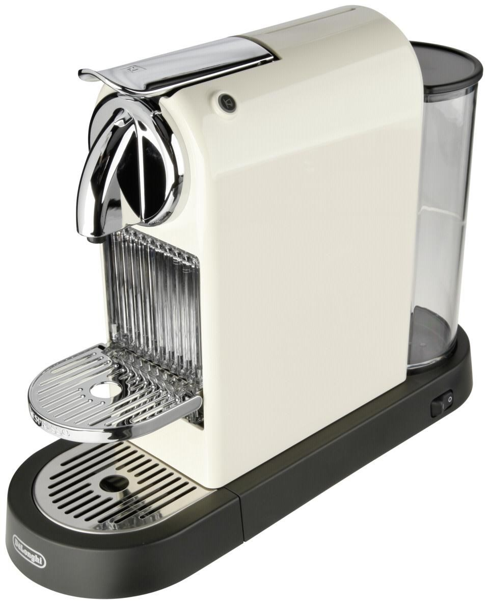 Delonghi Espresso Maker Coffee Pods : DeLonghi Citiz EN165CW Nespresso-System weiss - Coffee Pod / Capsule Machines - computeruniverse