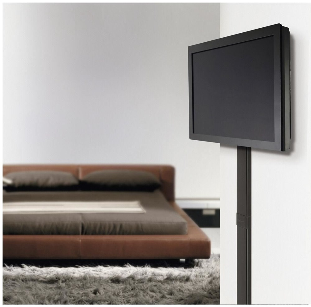 vogels cable 8 kabelkanal h 94cm schwarz max 8 kabel. Black Bedroom Furniture Sets. Home Design Ideas