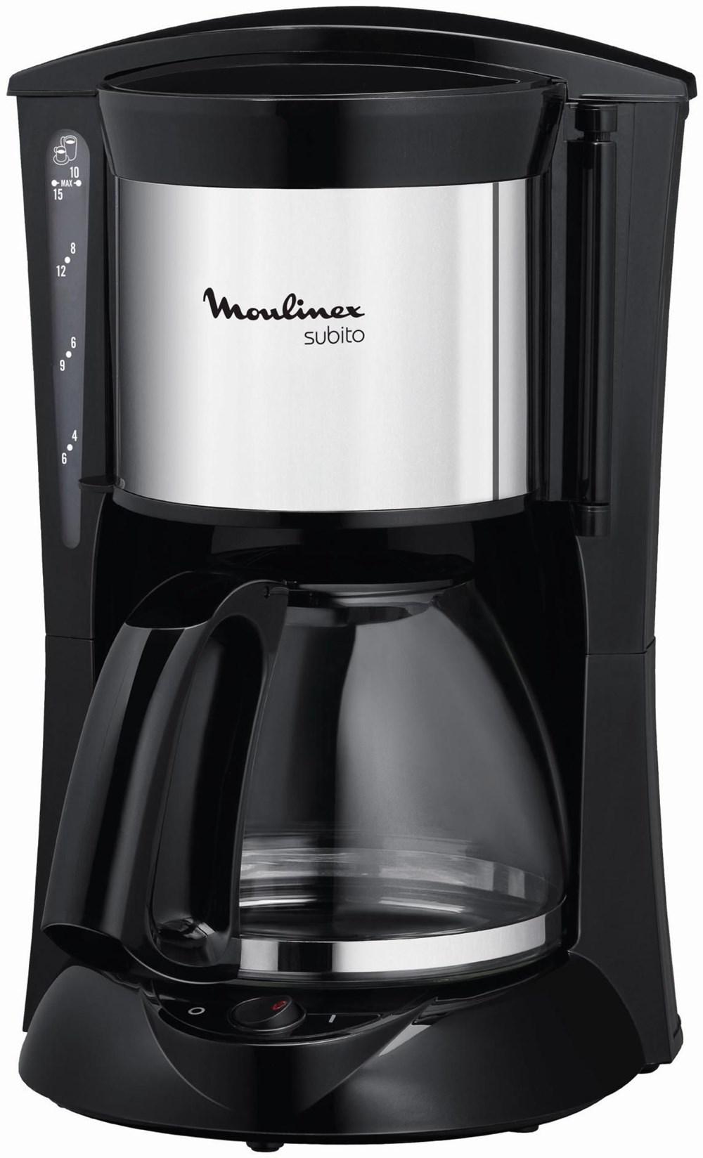 Superb Moulinex FG1105 Subito Kaffeemaschine Schwarz