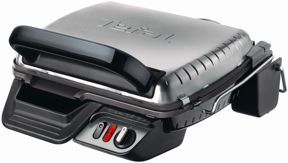 tefal gc 3060 grill schwarz silber grills computeruniverse. Black Bedroom Furniture Sets. Home Design Ideas
