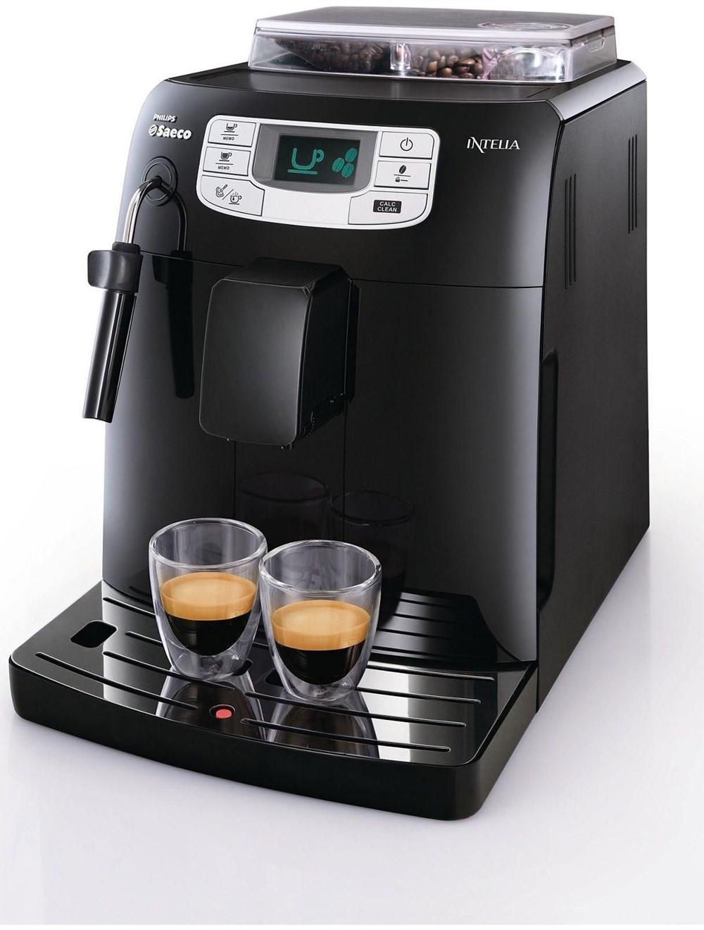 Philips Coffee Maker Bean To Cup : Philips Saeco Intelia Fokus HD8751 Kaffeevollautomat schwarz - Bean-to-Cup Coffee Machines ...