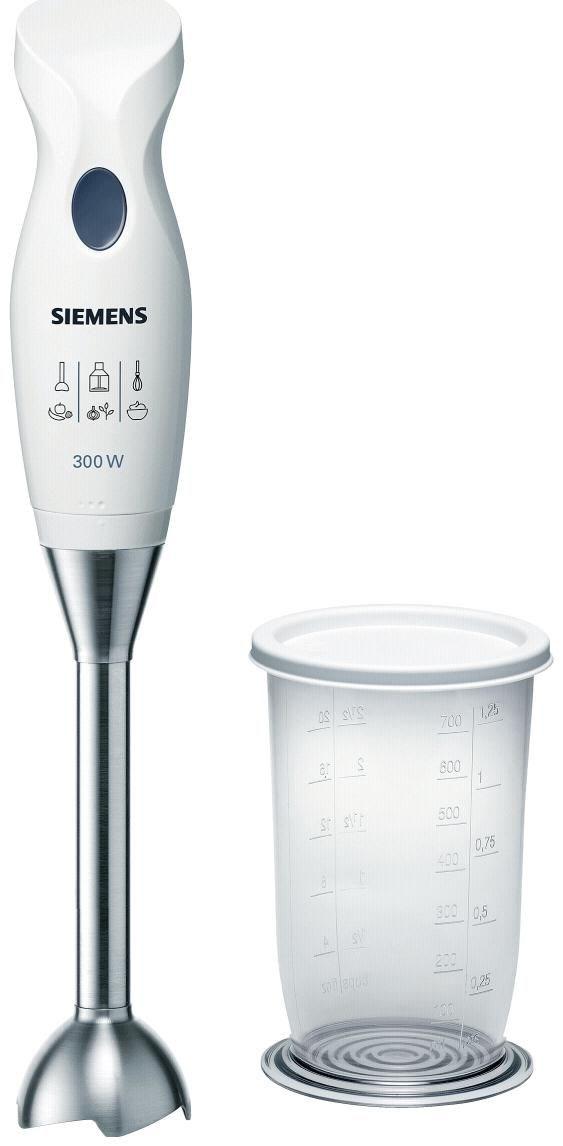 Siemens MQ5B250N Stabmixer weiss/blau