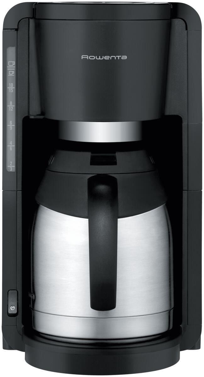 rowenta ct3818 kaffeemaschine schwarz edelstahl kaffeemaschinen computeruniverse. Black Bedroom Furniture Sets. Home Design Ideas