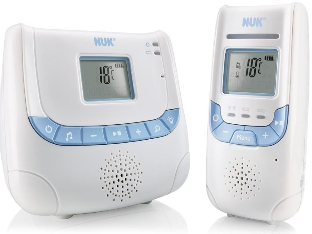 NUK Eco Con­trol+ DECT 267 Babyphone weiss
