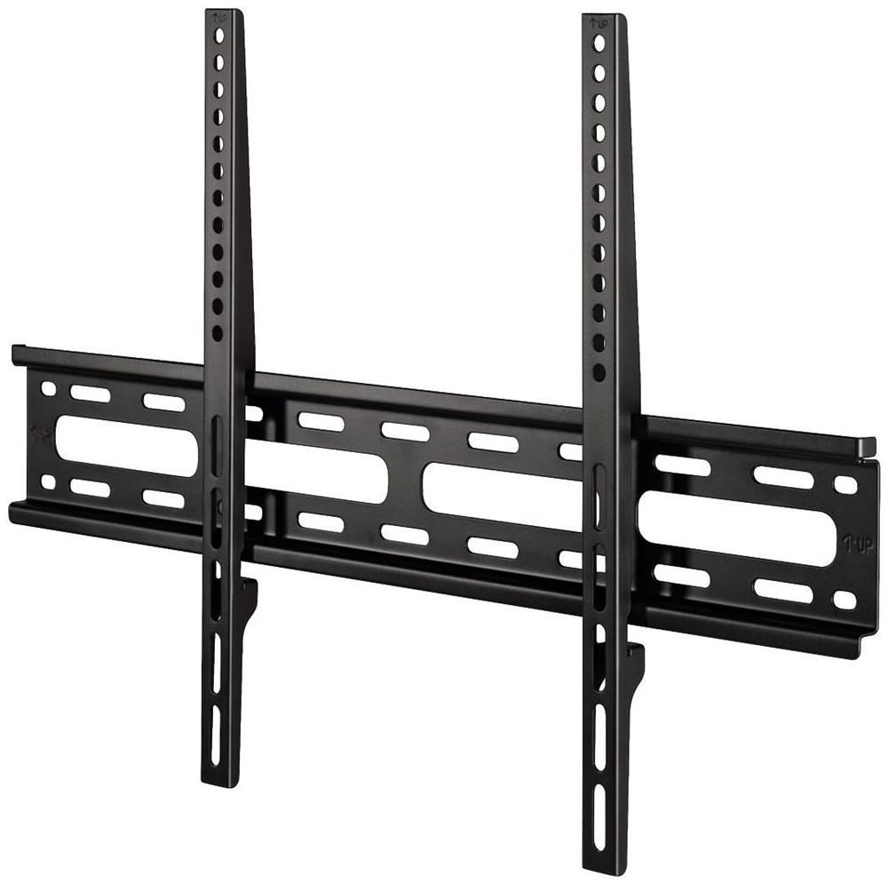 hama tv wandhalterung fix 1 stern xl 165 cm 65 schwarz wand deckenhalterung. Black Bedroom Furniture Sets. Home Design Ideas