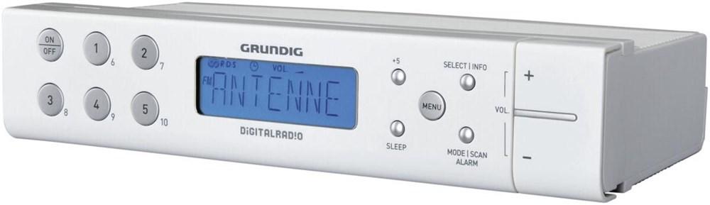 Grundig Sonoclock 691 DAB+ weiss