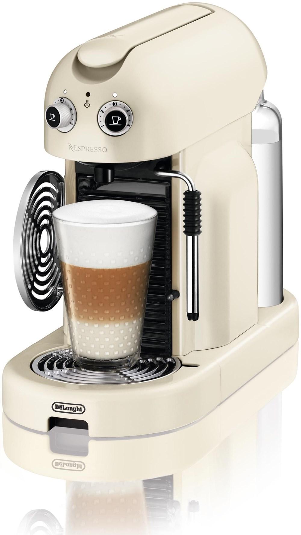 Delonghi Espresso Maker Coffee Pods : DeLonghi Maestria EN 450.CW Nespresso Crema - Coffee Pod / Capsule Machines - computeruniverse