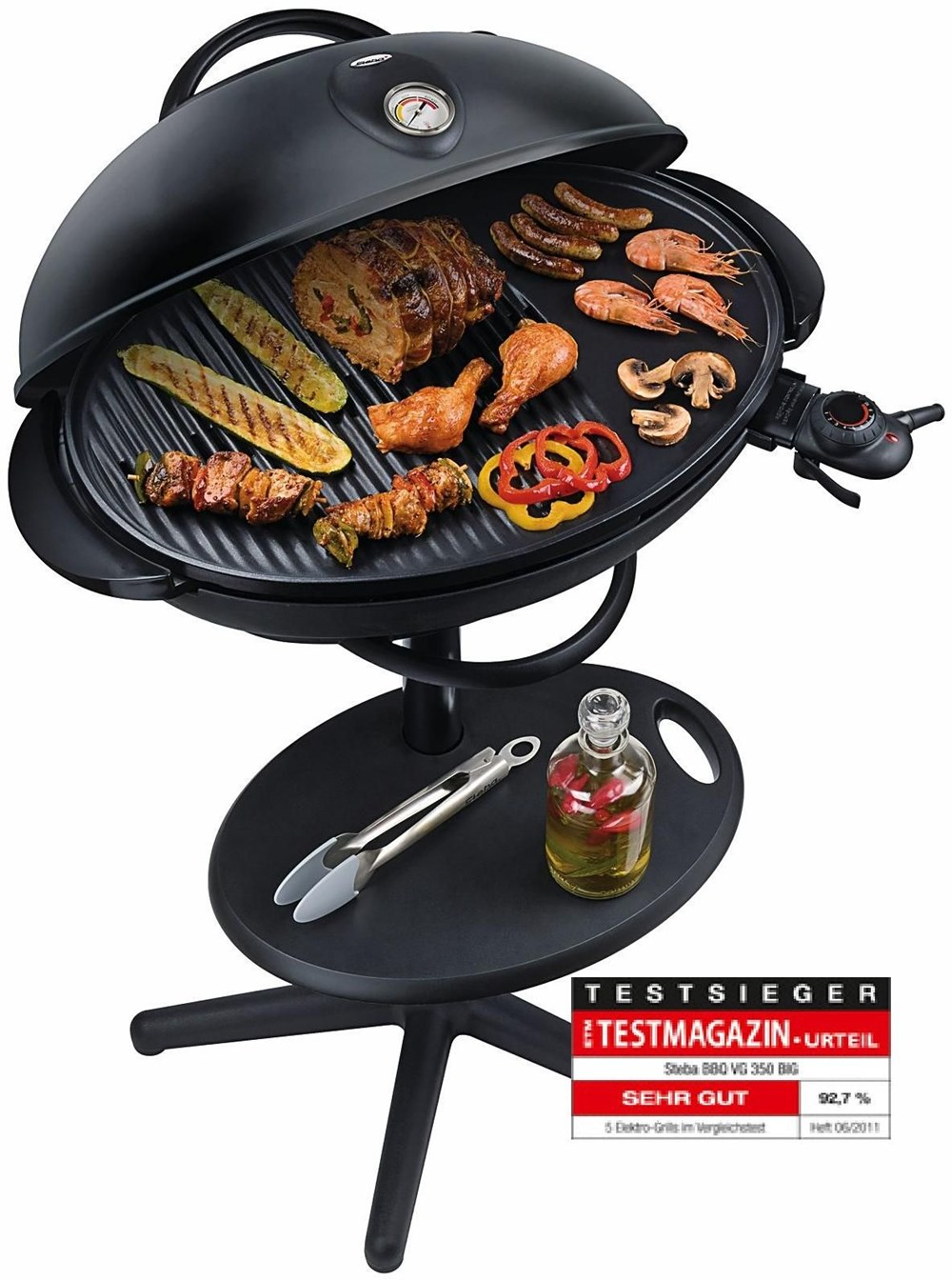 steba elektrogrill vg 350 big grills computeruniverse. Black Bedroom Furniture Sets. Home Design Ideas