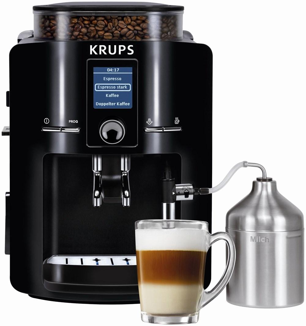krups ea 8250 kaffeevollautomat schwarz bean to cup. Black Bedroom Furniture Sets. Home Design Ideas