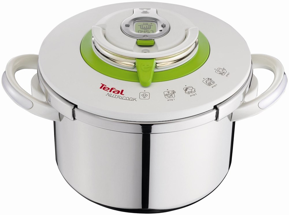 tefal nutricook schnellkochtopf 6l 22cm pans cooking pots computeruniverse. Black Bedroom Furniture Sets. Home Design Ideas
