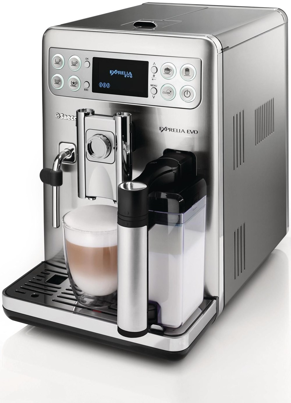 Philips Coffee Maker Bean To Cup : Philips Saeco Exprelia Evo HD8857/01 - Bean-to-Cup Coffee Machines - computeruniverse