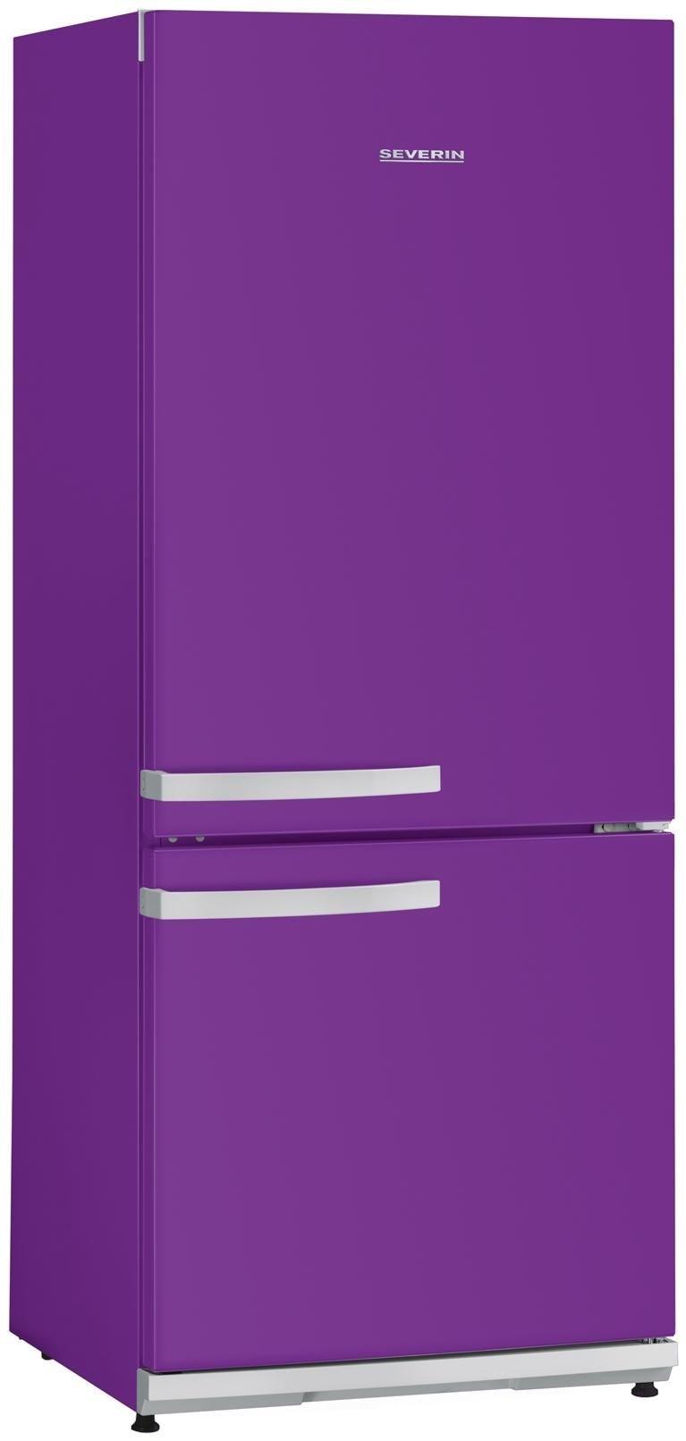 severin ks 9899 k hl gefrierkombination violett fridges. Black Bedroom Furniture Sets. Home Design Ideas
