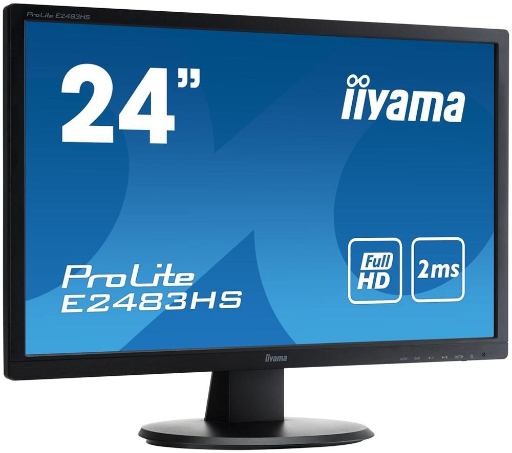 iiyama prolite e2483hs b1 monitore computeruniverse. Black Bedroom Furniture Sets. Home Design Ideas