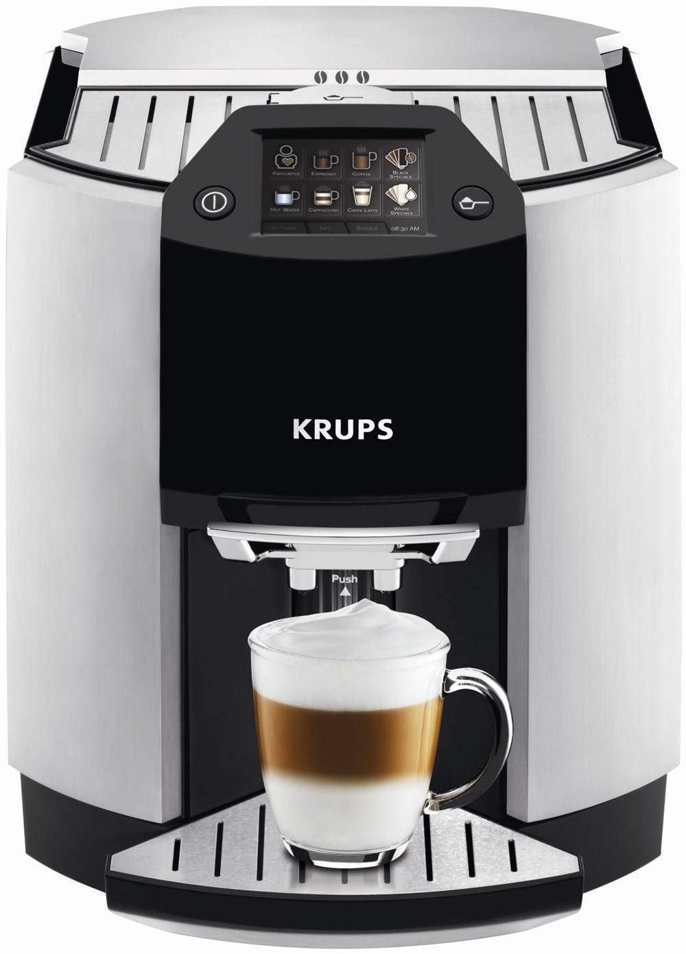 krups ea 9010 espresso kaffee vollautomat edelstahl. Black Bedroom Furniture Sets. Home Design Ideas