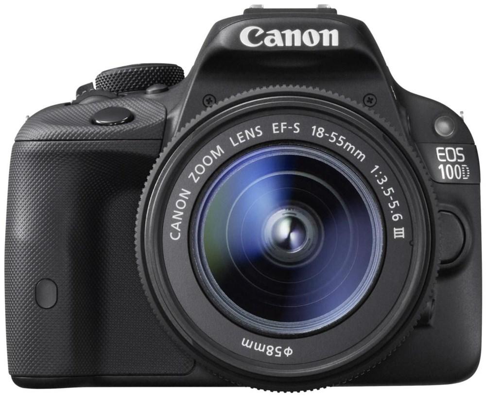 Znalezione obrazy dla zapytania canon 100D + 18-55 DC