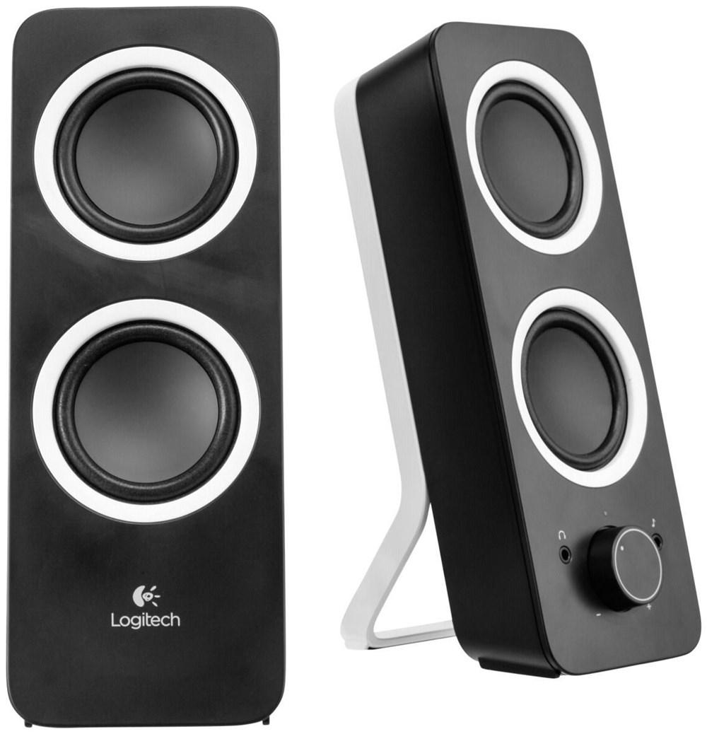 Logitech Z200 Lautsprecher schwarz - Speakers (HiFi) - computeruniverse