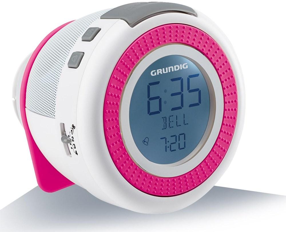 grundig sonoclock 220 wei pink radios und radiowecker. Black Bedroom Furniture Sets. Home Design Ideas