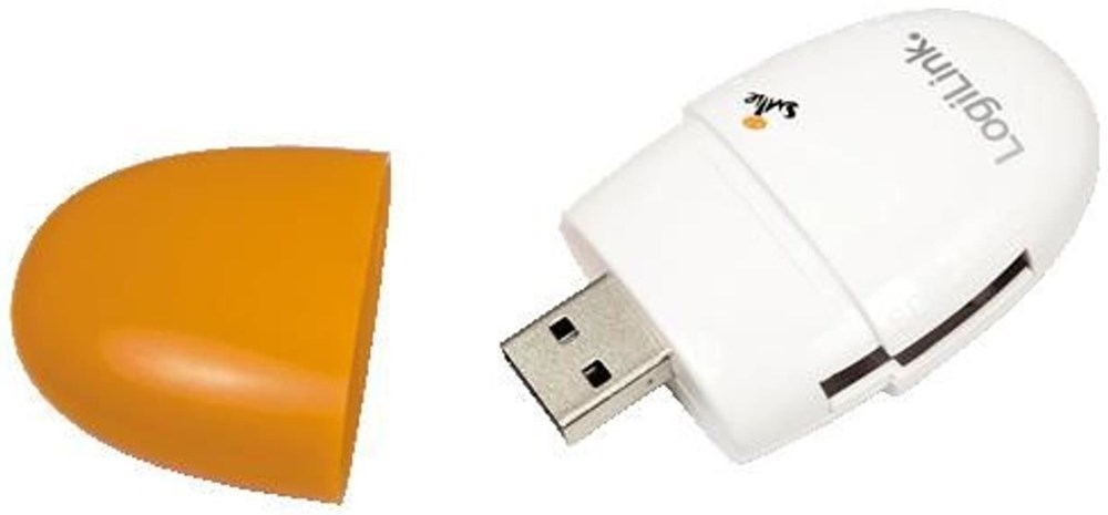 LogiLink Smile Card Reader orange