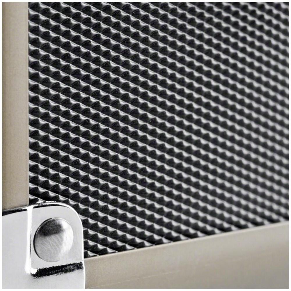 Walimex Aluminium Foto Koffer Basic M schwarz / braun