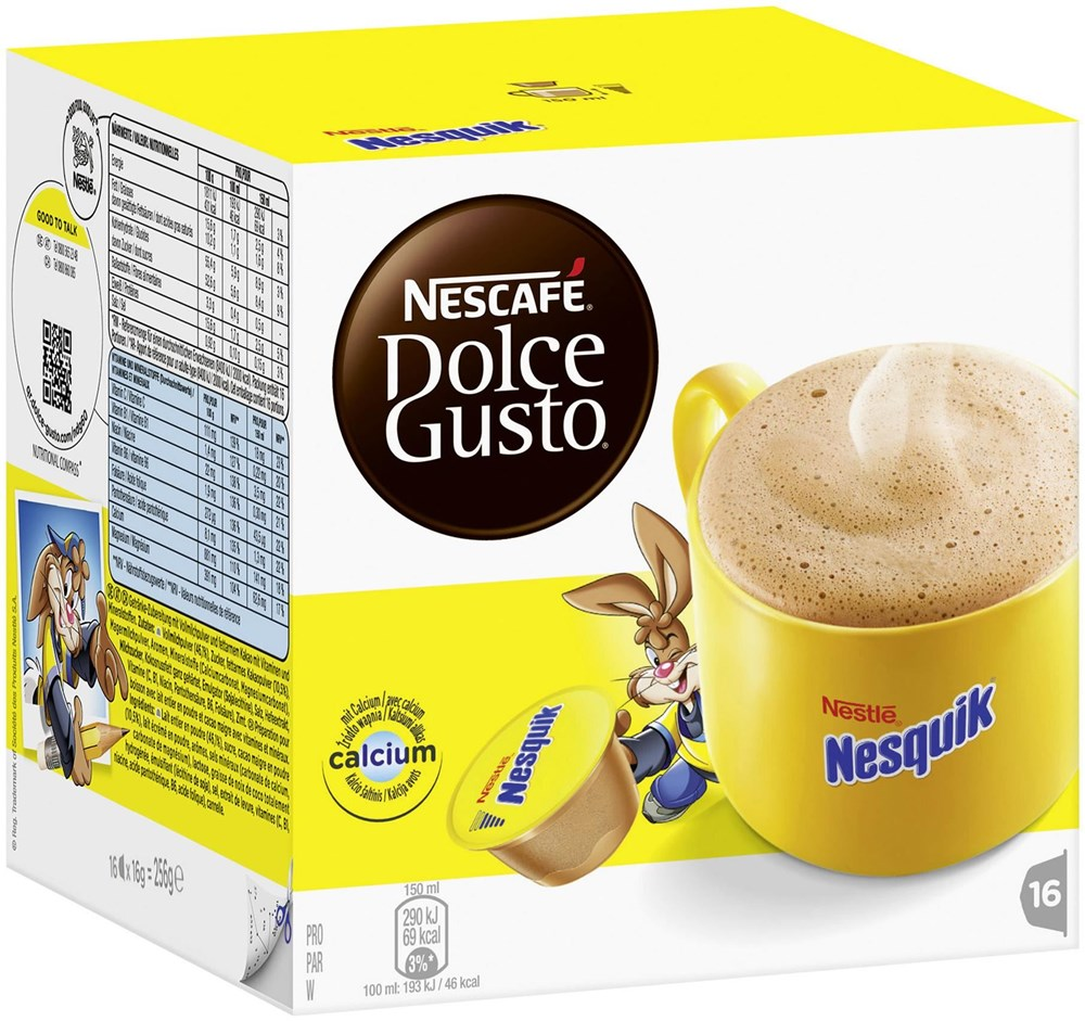 nescafe dolce gusto nesquik kapseln f r dolce gusto kaffee tee computeruniverse. Black Bedroom Furniture Sets. Home Design Ideas