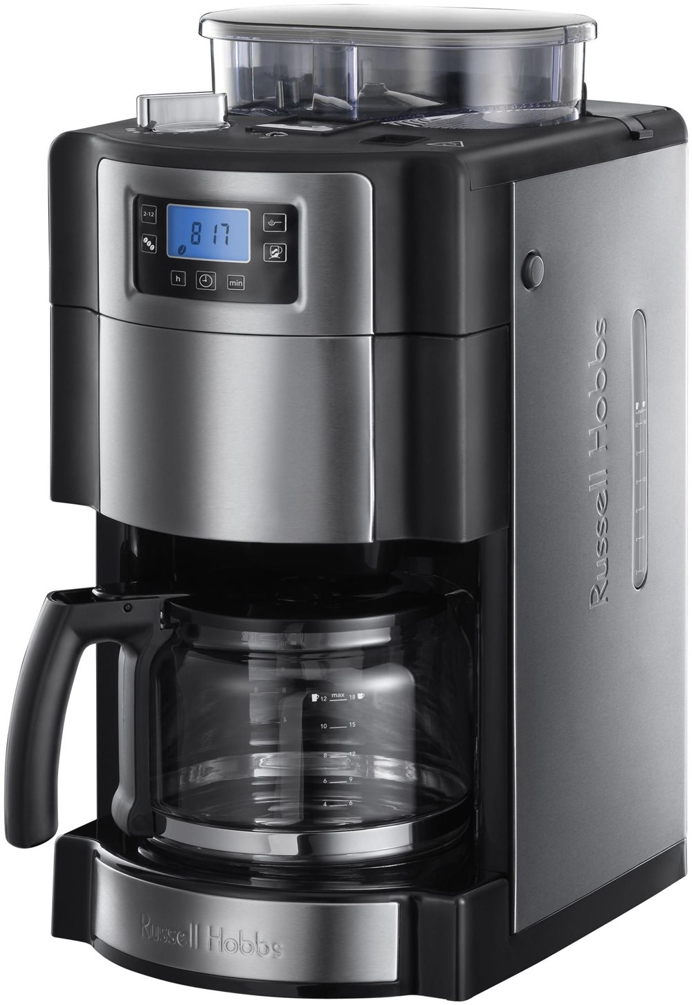 russell hobbs allure grind brew glas kaffeemaschine. Black Bedroom Furniture Sets. Home Design Ideas