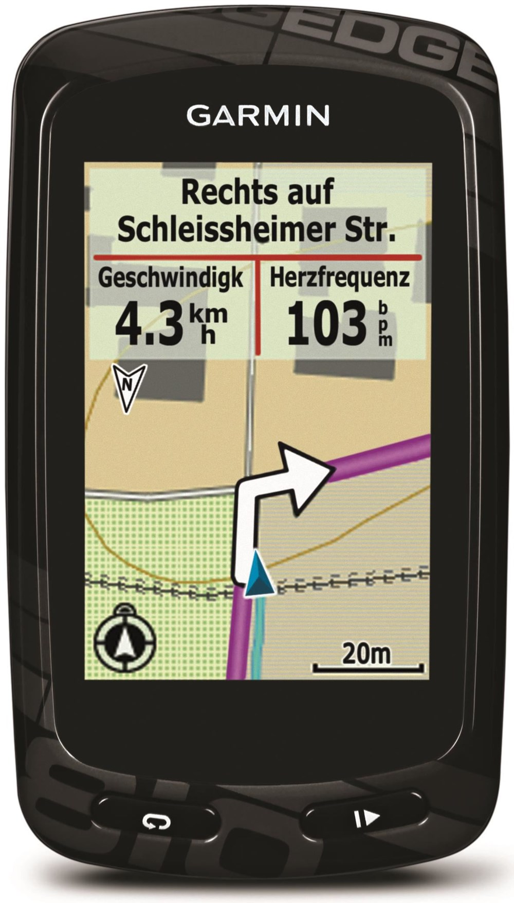 Garmin Edge 810 Performance Bundle Fahrrad GPS