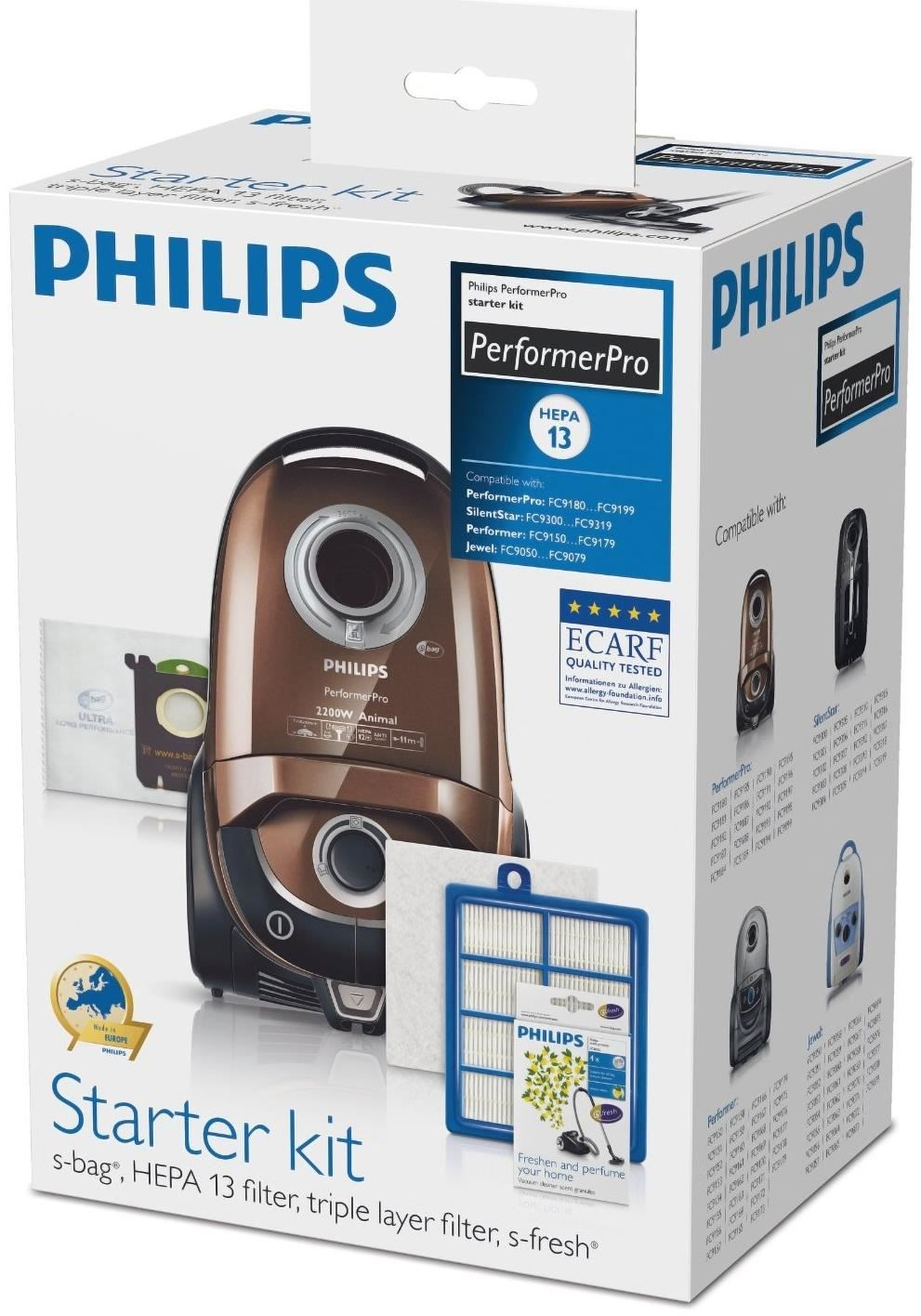 philips fc8060 01 starter kit f r den performerpro zubeh r staubsauger computeruniverse. Black Bedroom Furniture Sets. Home Design Ideas