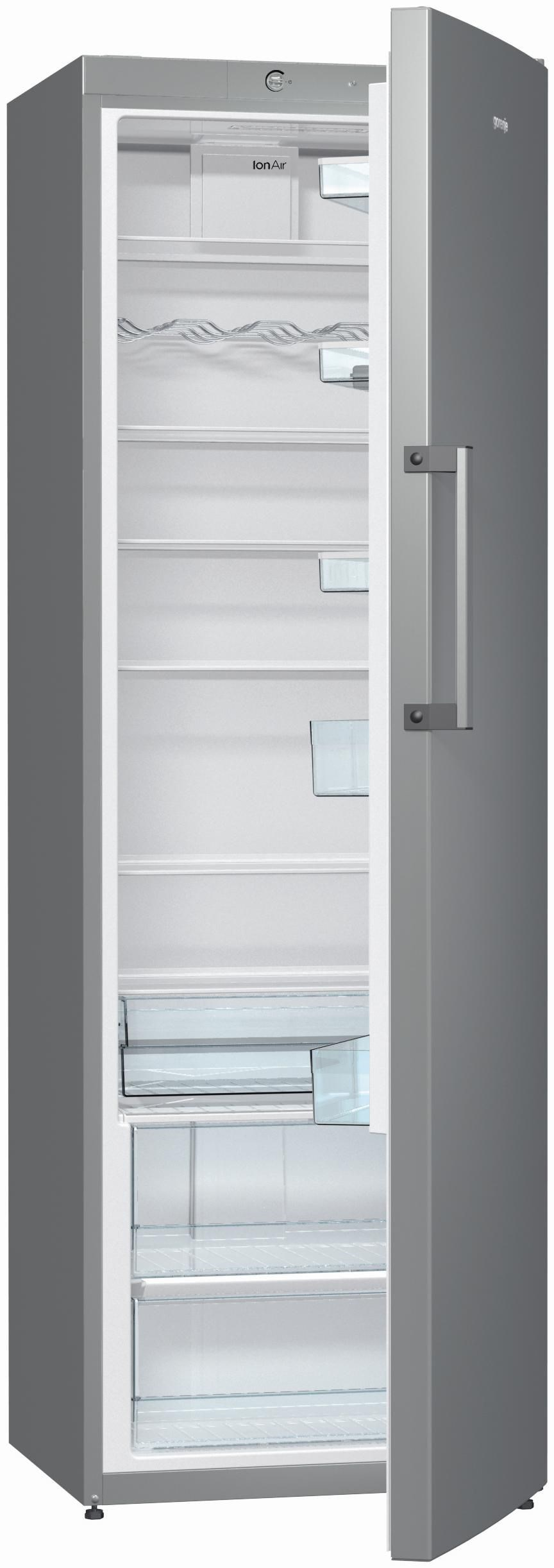 gorenje r6192fx inox vollraum k hlschrank h 185 cm b 60 cm a k hlschr nke computeruniverse. Black Bedroom Furniture Sets. Home Design Ideas