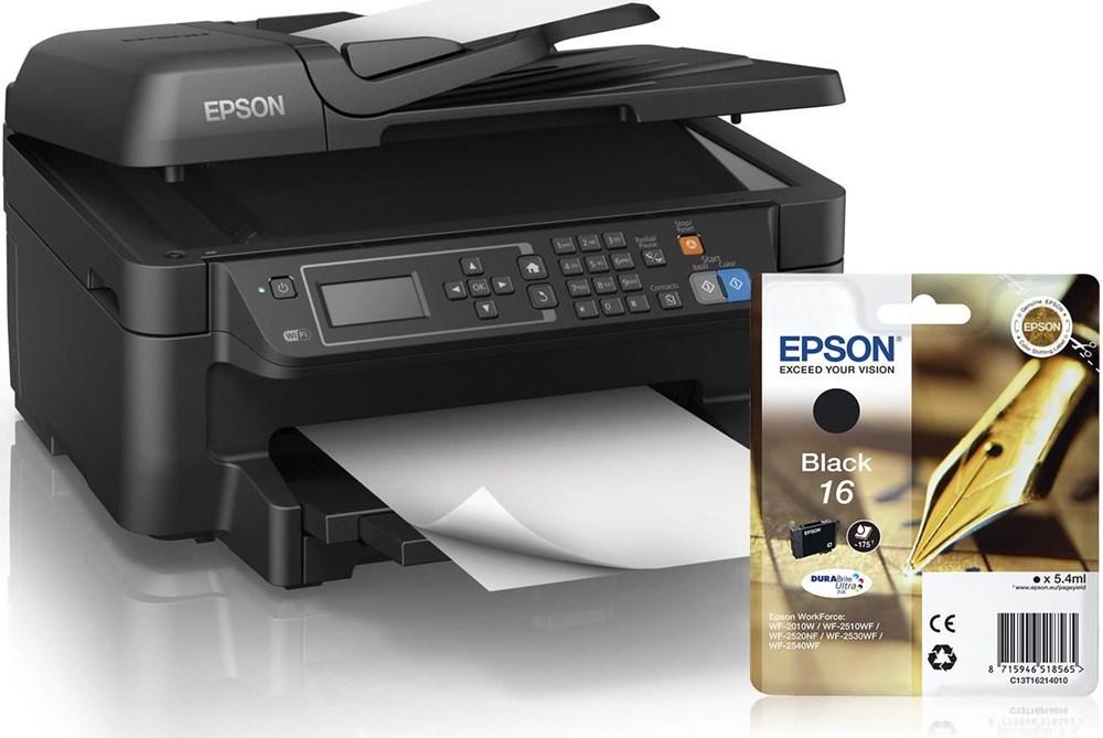 epson workforce wf 2650dwf mit gratis tintenpatrone. Black Bedroom Furniture Sets. Home Design Ideas
