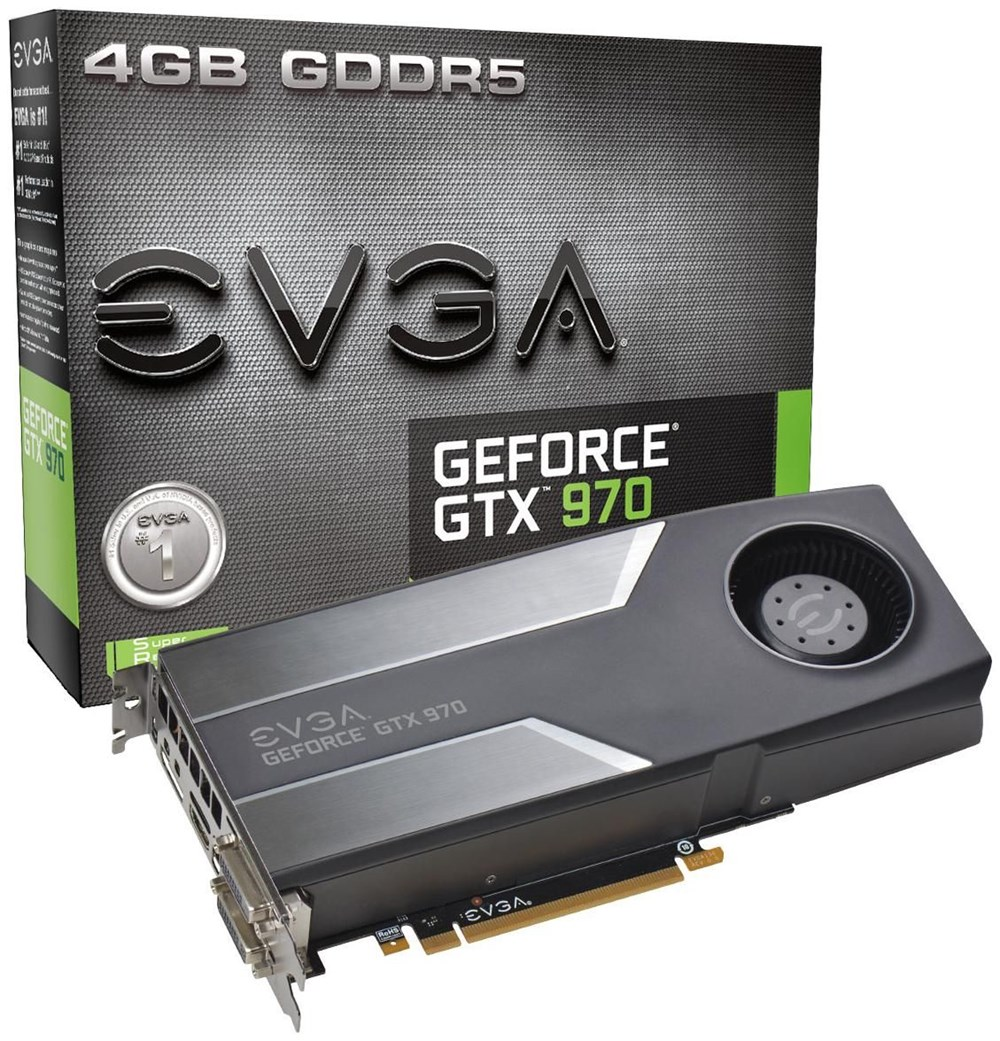 evga geforce gtx 970 4gb gddr5 pci express graphics. Black Bedroom Furniture Sets. Home Design Ideas