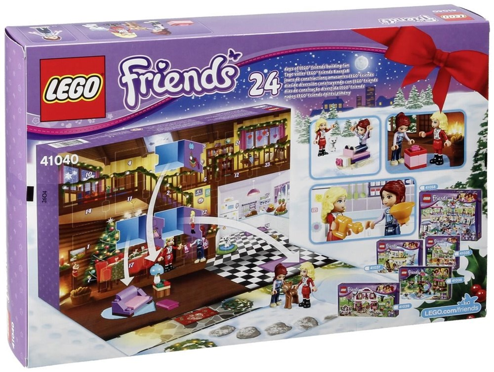 lego friends 41040 adventskalender 2014 lego computeruniverse. Black Bedroom Furniture Sets. Home Design Ideas