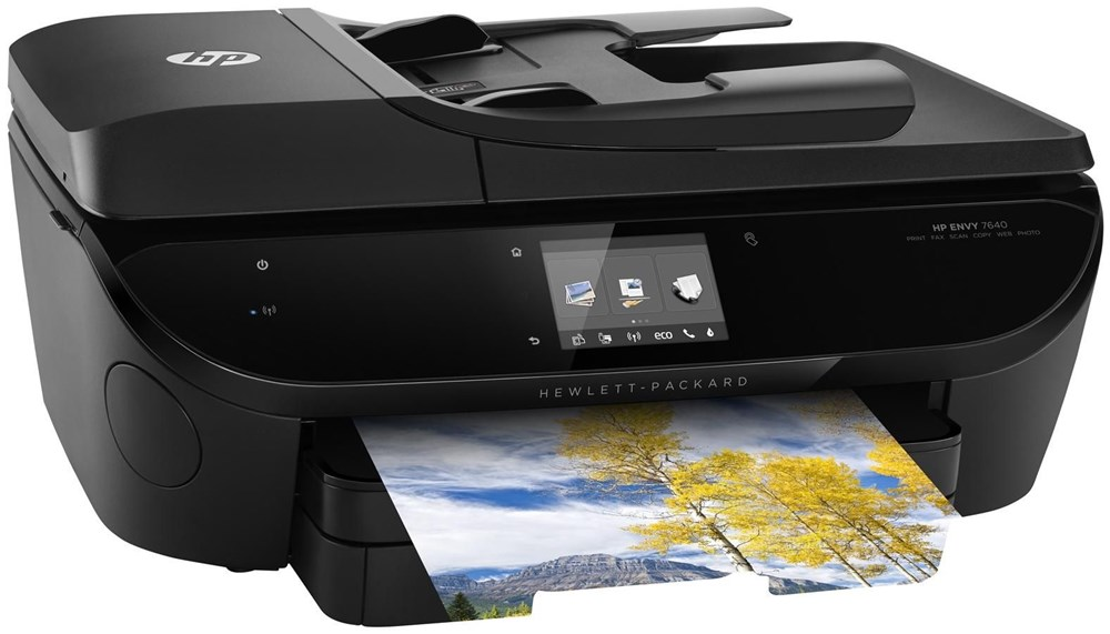 hp envy 7640 e all in one drucker all in one printers. Black Bedroom Furniture Sets. Home Design Ideas