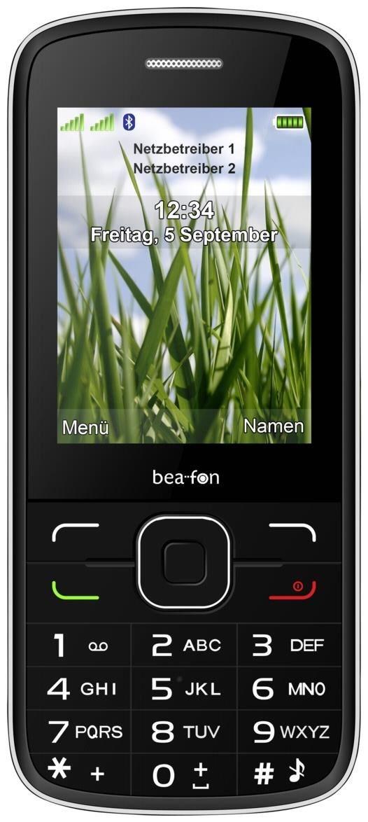 C150 Barren Handy ohne Vertrag/SIMlock, schwarz (Handy)