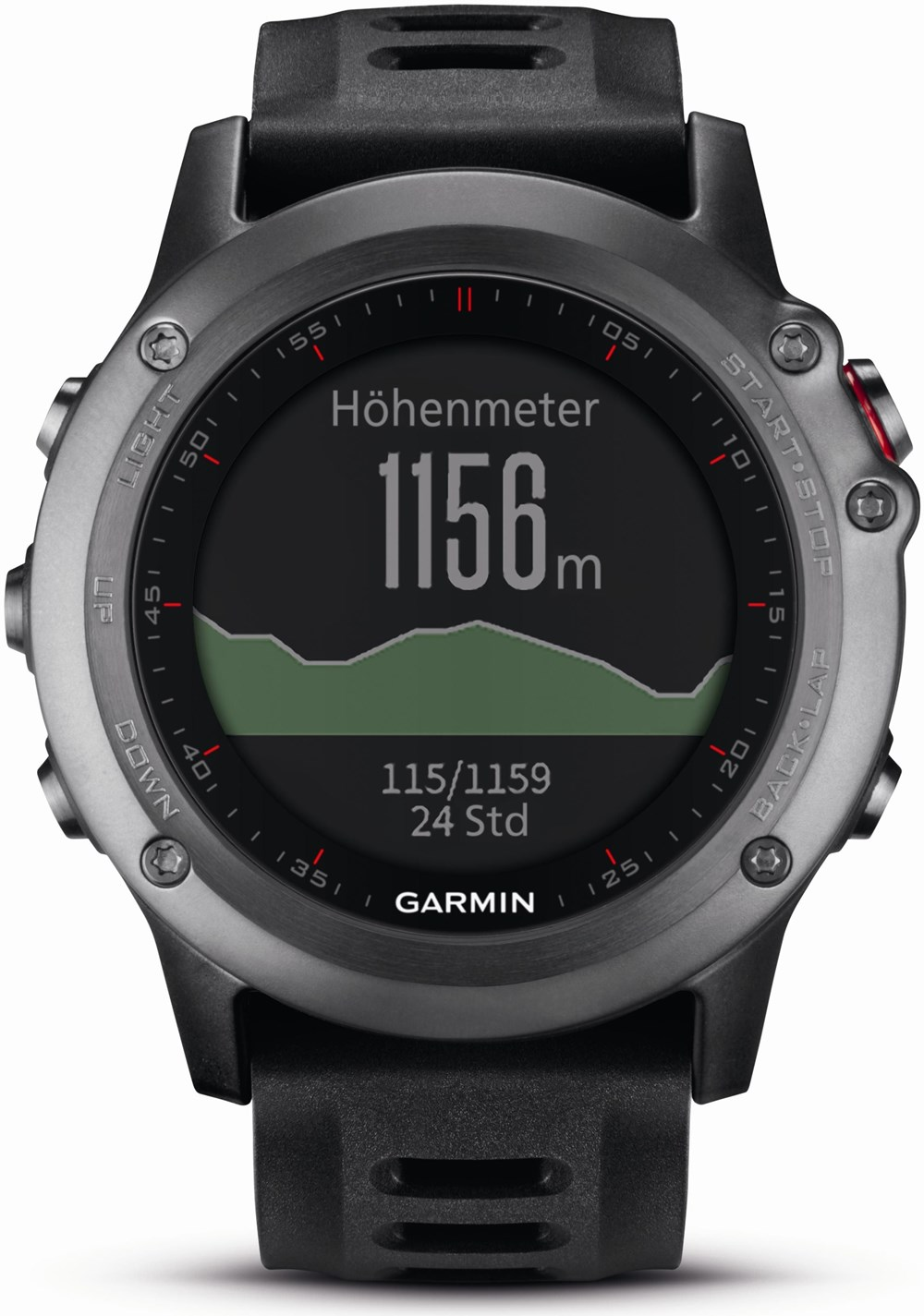 garmin fenix 3 grau gps multisportuhr mit smartwatch. Black Bedroom Furniture Sets. Home Design Ideas