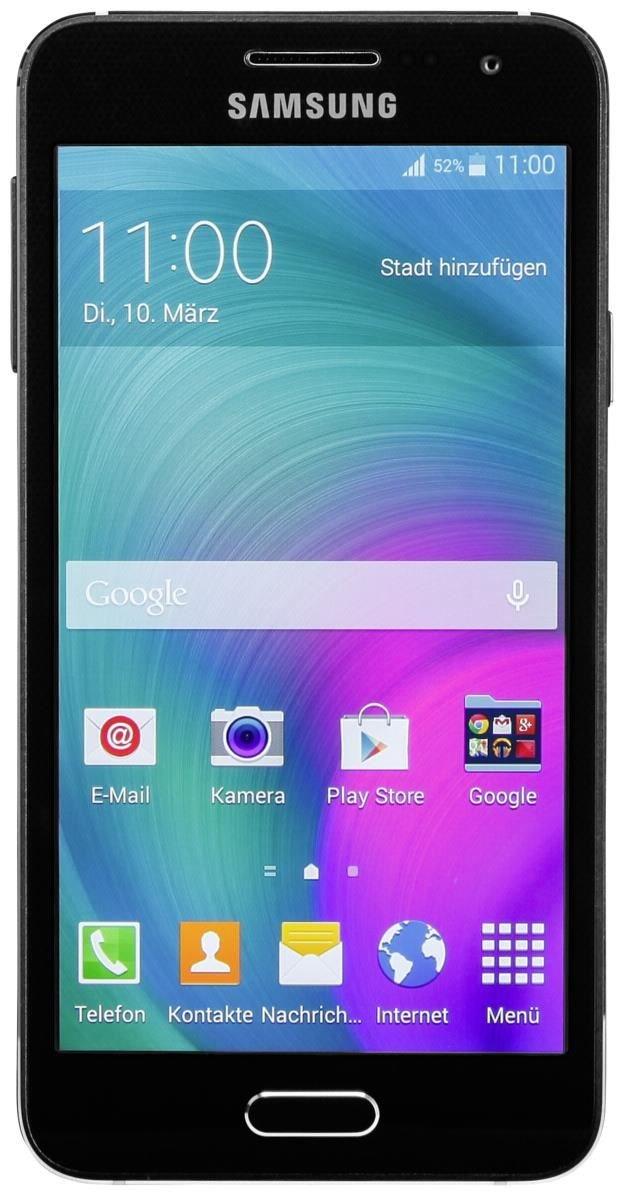 samsung galaxy a3 16 gb smartphone ohne vertrag simlock. Black Bedroom Furniture Sets. Home Design Ideas