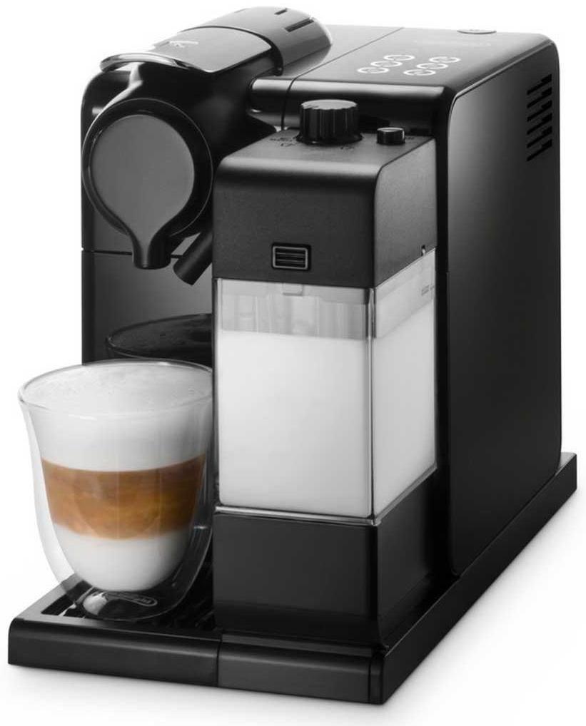 Delonghi Coffee Maker Ec330 Pods : DeLonghi Lattissima Touch Nespresso EN 550.B schwarz - Coffee Pod / Capsule Machines ...