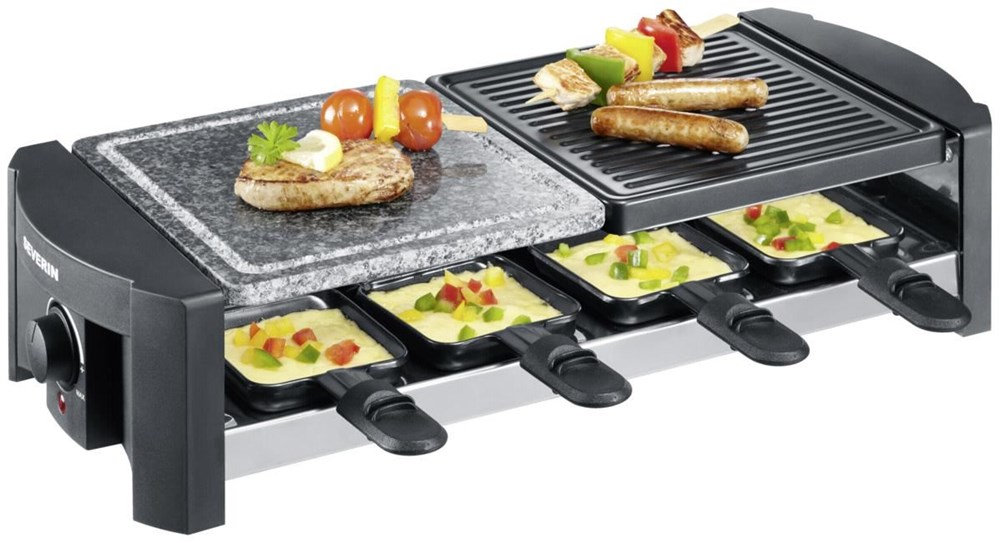 Severin RG2683 Raclette-Partygrill schwarz