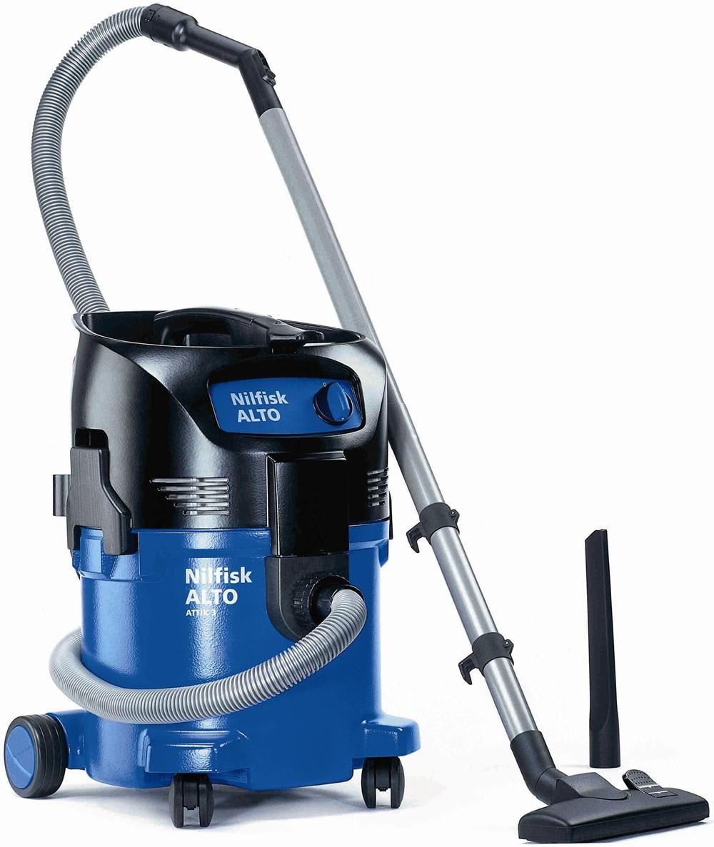 nilfisk attix 30 01 wet dry vacuum cleaner. Black Bedroom Furniture Sets. Home Design Ideas