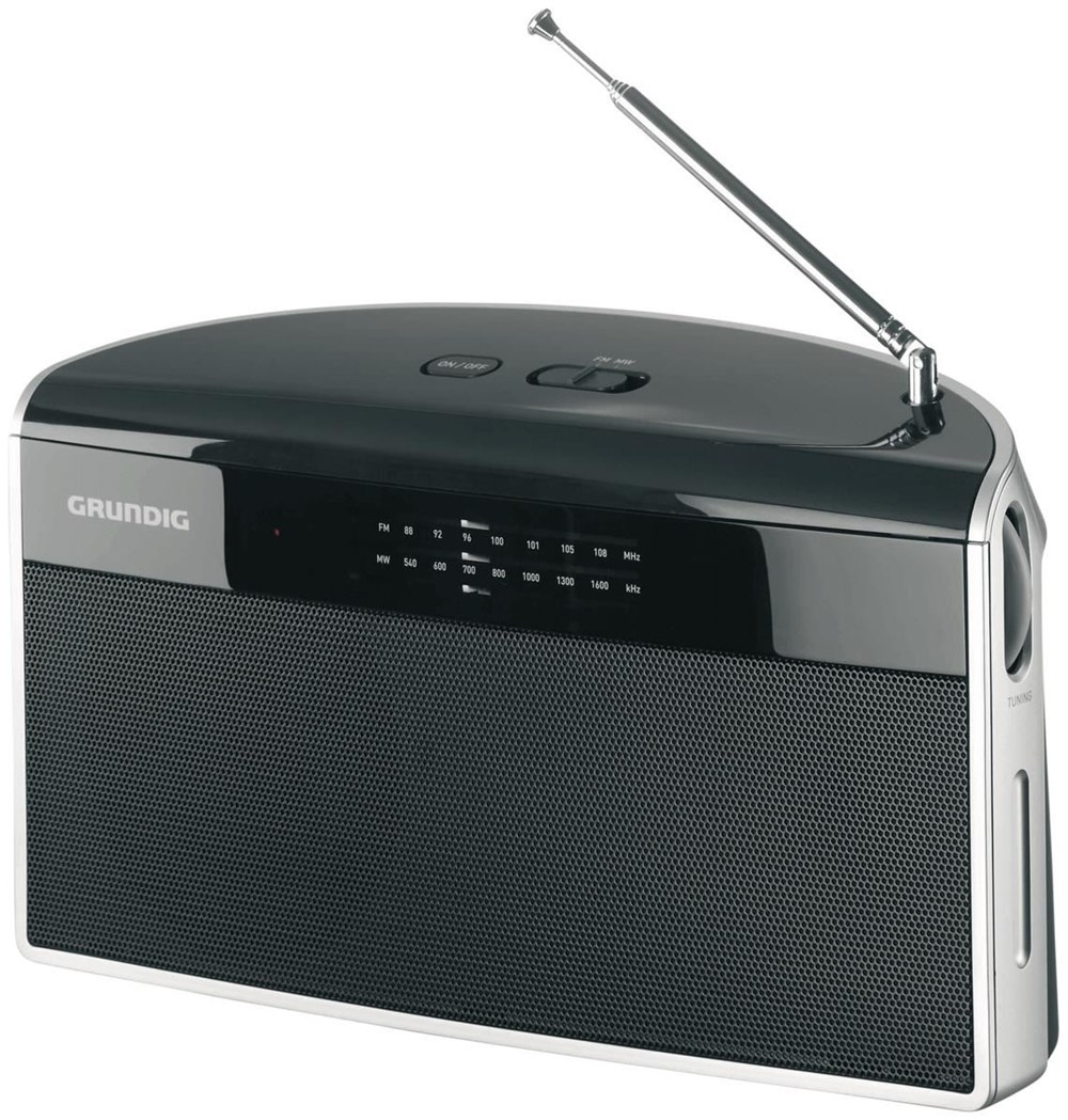 grundig music 80 schwarz radios und radiowecker. Black Bedroom Furniture Sets. Home Design Ideas