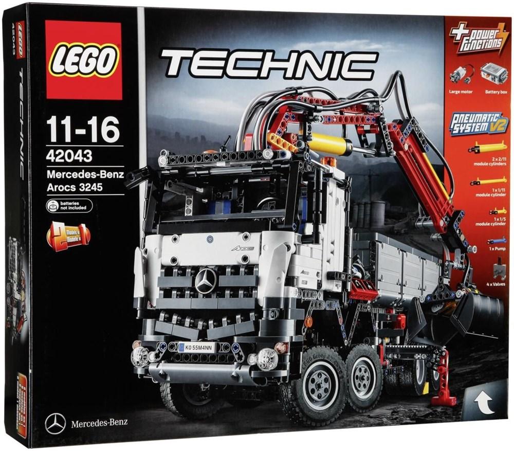 lego technic 42043 mercedes benz arocs 3245 lego. Black Bedroom Furniture Sets. Home Design Ideas