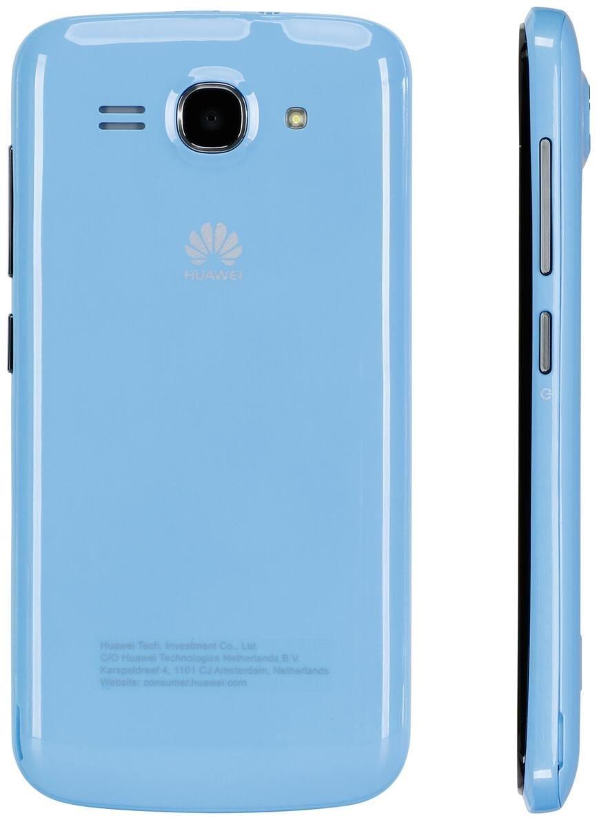 Huawei Y540  4 GB Smartphone ohne Vertrag/SIMlock,  blau (Handy)