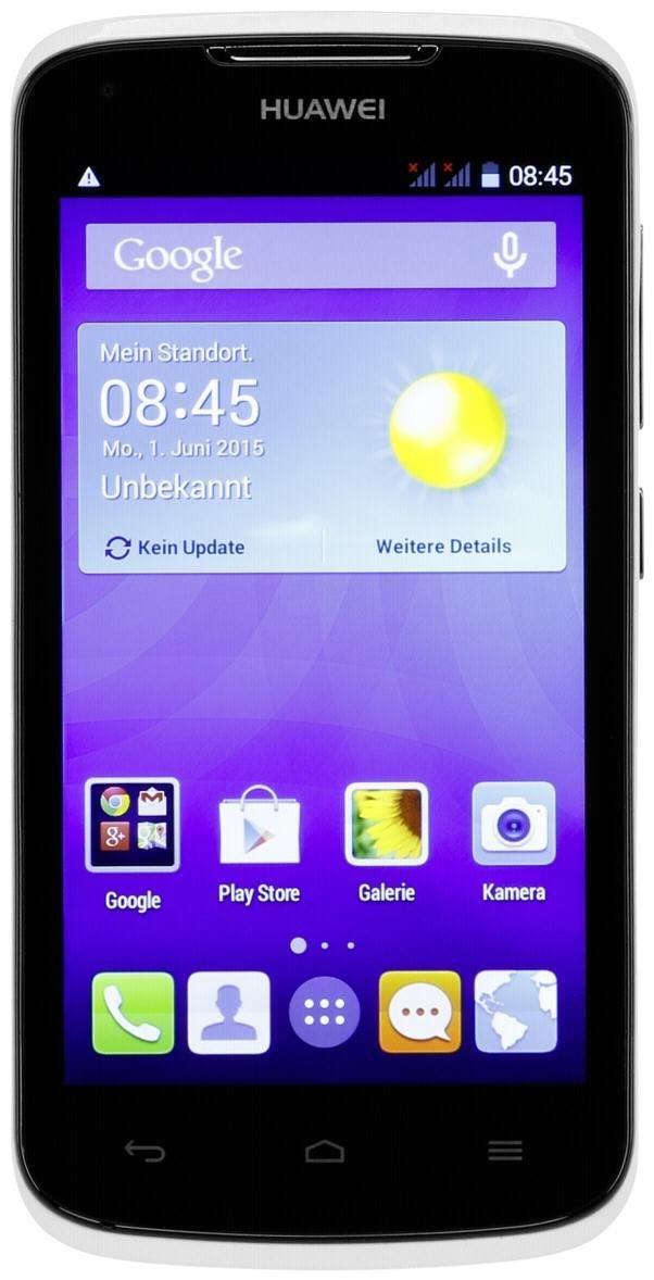 Huawei Y540  4 GB Smartphone ohne Vertrag/SIMlock,  weiß (Handy)