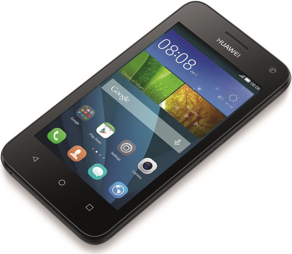 Huawei Y3 schwarz