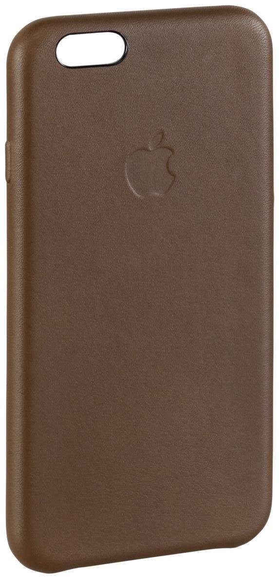 apple leder case f r iphone 6 olive brown smartphone. Black Bedroom Furniture Sets. Home Design Ideas