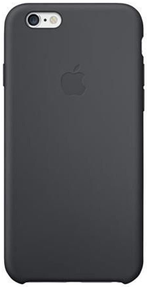 apple silikon case f r iphone 6 schwarz smartphone. Black Bedroom Furniture Sets. Home Design Ideas