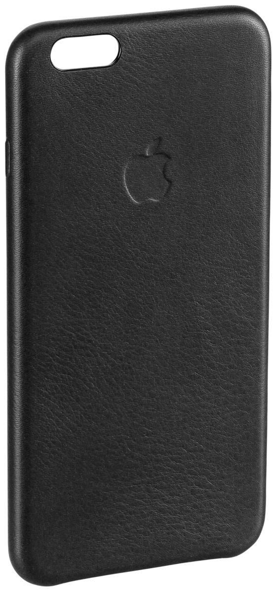 apple leder case f r iphone 6 plus schwarz smartphone. Black Bedroom Furniture Sets. Home Design Ideas